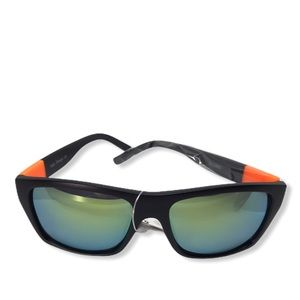 Other - Black and Orange Mirrored Sunglasses